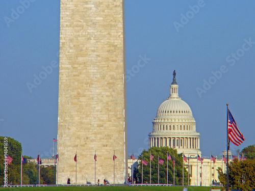 Washington DC : Capitole, Washington Monument