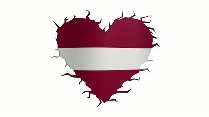 Cuore Lettonia Loop