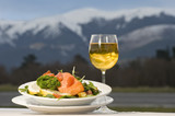 New Zealand salmon meal