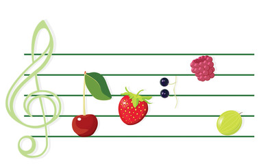 Music of berries