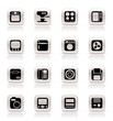Simple Home and Office, Equipment Icons - Vector Icon Set