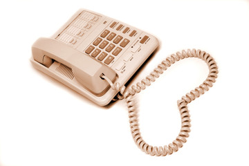 Love to telephone