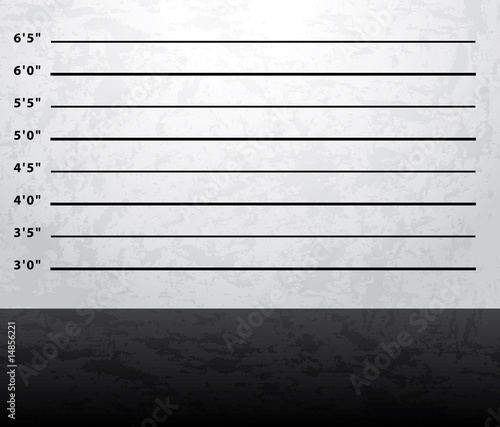 Mugshot prison background