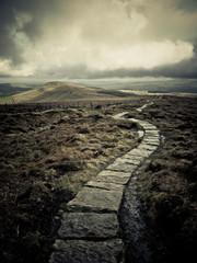 Path Through The Goyt Vally