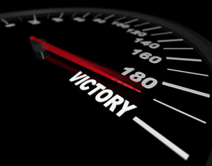Speeding Toward Victory - Speedometer