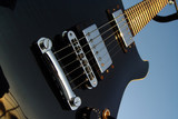 Hard Dark Green Electric Guitar - Cort