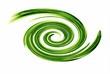 abstract swirling vortex