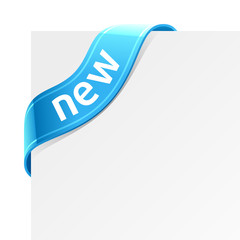 Vector sign «New»