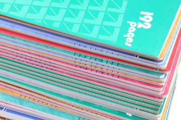 des cahiers d'écolier