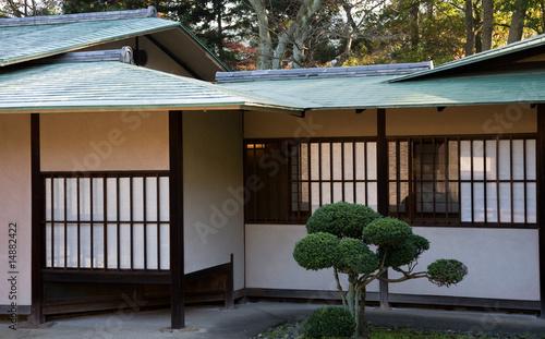 Japanisches gartenhaus von alephnull lizenzfreies foto 14882422 auf - Japanisches gartenhaus ...