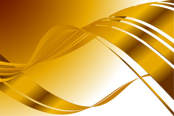 abstract gold lines