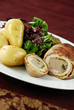 Chicken ballotine meal