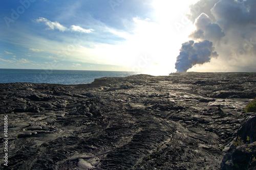 Leinwanddruck Bild Kilauea, Big Island, Hawaii