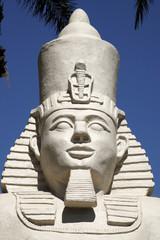 replica statue of ramses II