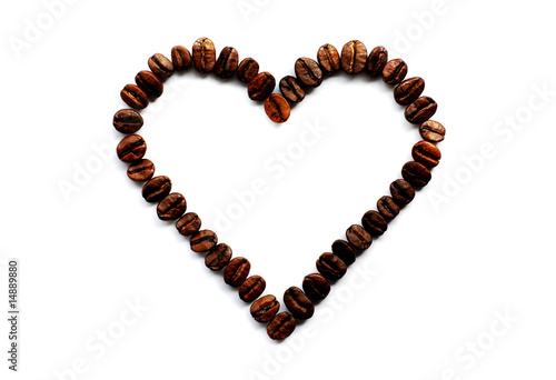The heart of coffee