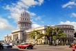 Leinwandbild Motiv Capitolio building in Havana Cuba