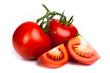 ripe red tomatos