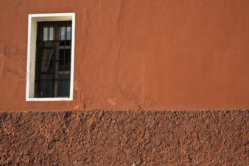 Composition with a window