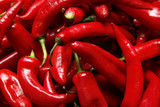 Red hot chilli peppers – papryka chilli na ścianie