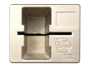 Credit card slot