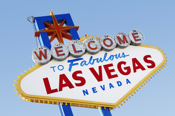Las Vegas Welcome Road Sign