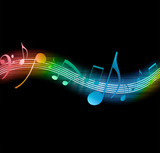 Fototapety Music Notes
