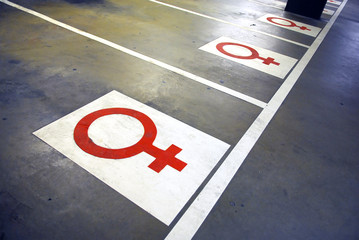 parking female
