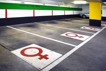female parking 2