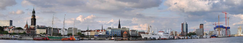 Hamburg Landungsbrücken Panorama