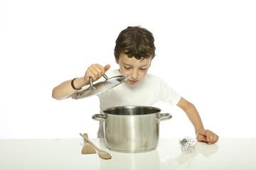 à la cuisine
