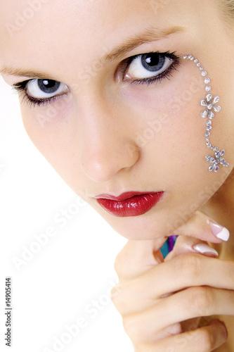 Fototapeten,auge,eye,makeup,gesicht