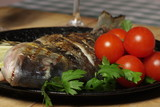 Grilled Fish - Sparus auratus
