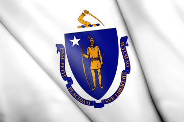 Flag of Massachusetts (USA)