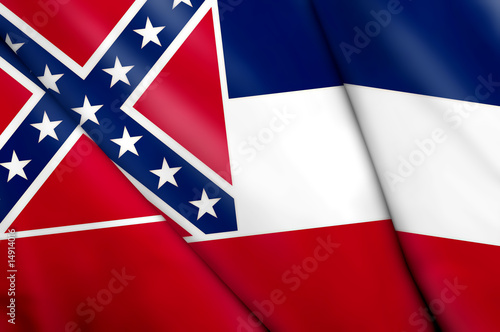 Flag of Mississippi (USA)