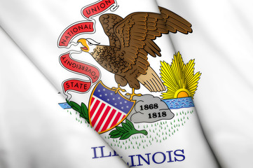 Flag of Illinois (USA)