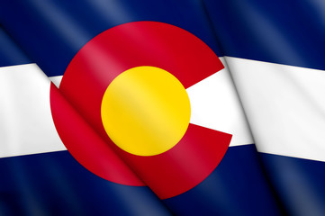 Flag of Colorado (USA)