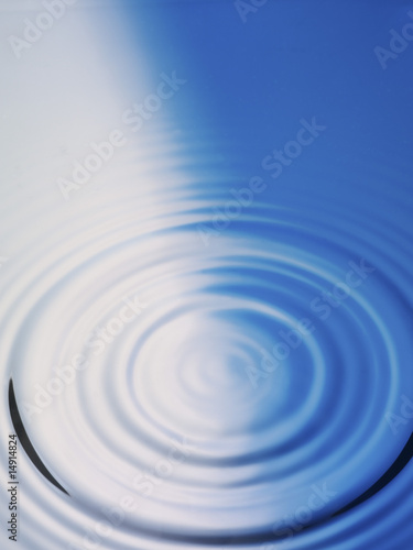 Rippled water surface, close-up