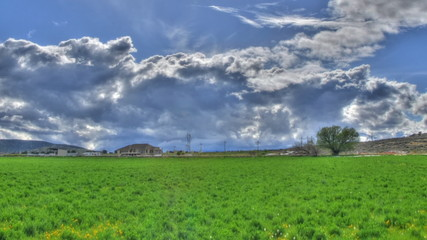 Tone Mapped Clouds Panning
