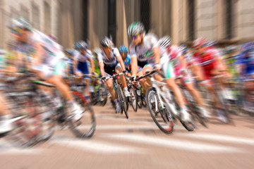 Ciclisti al tour