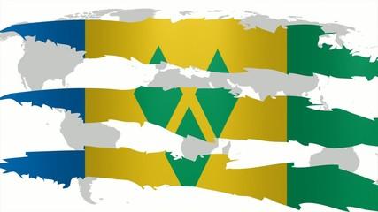 Graffio Saint Vincent e Grenadine
