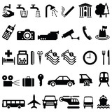 Signage Objects Graphics poster