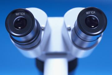 Microscope, close-up