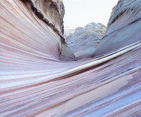 Sinuous geologic folds