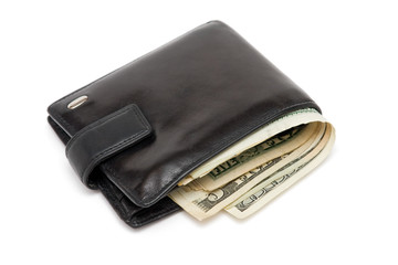 Wallet full of dollars