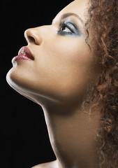 Beautiful Young Woman, profile