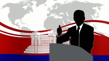 Leader Cambogia