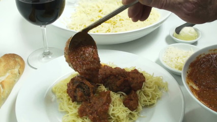 1080 Spaghetti meatball supper