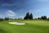 Fototapety green of a beautiful golf course