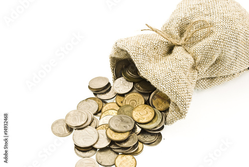 Bag with coin
