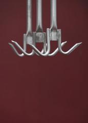 Hanging metal Meat Hooks